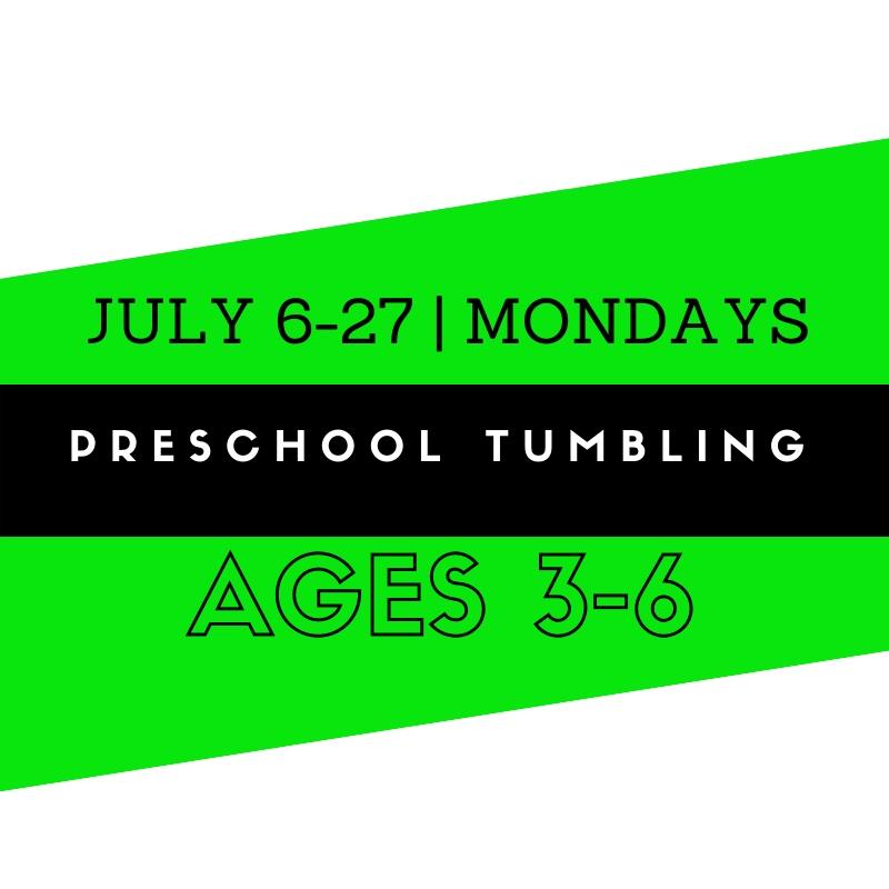 Summer Preschool Tumbling