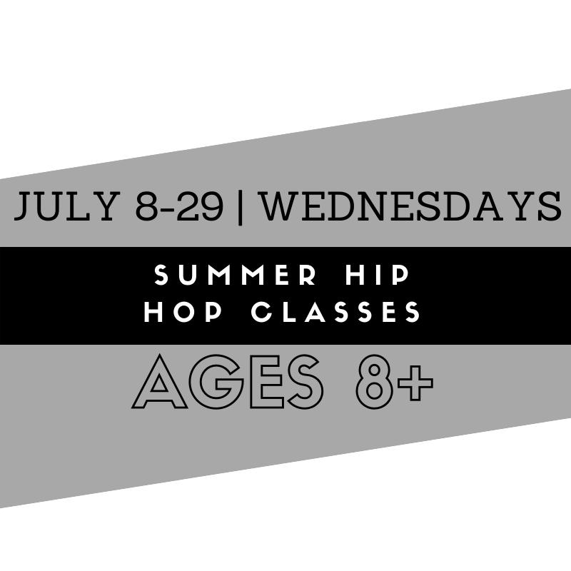 Summer Hip Hop Classes