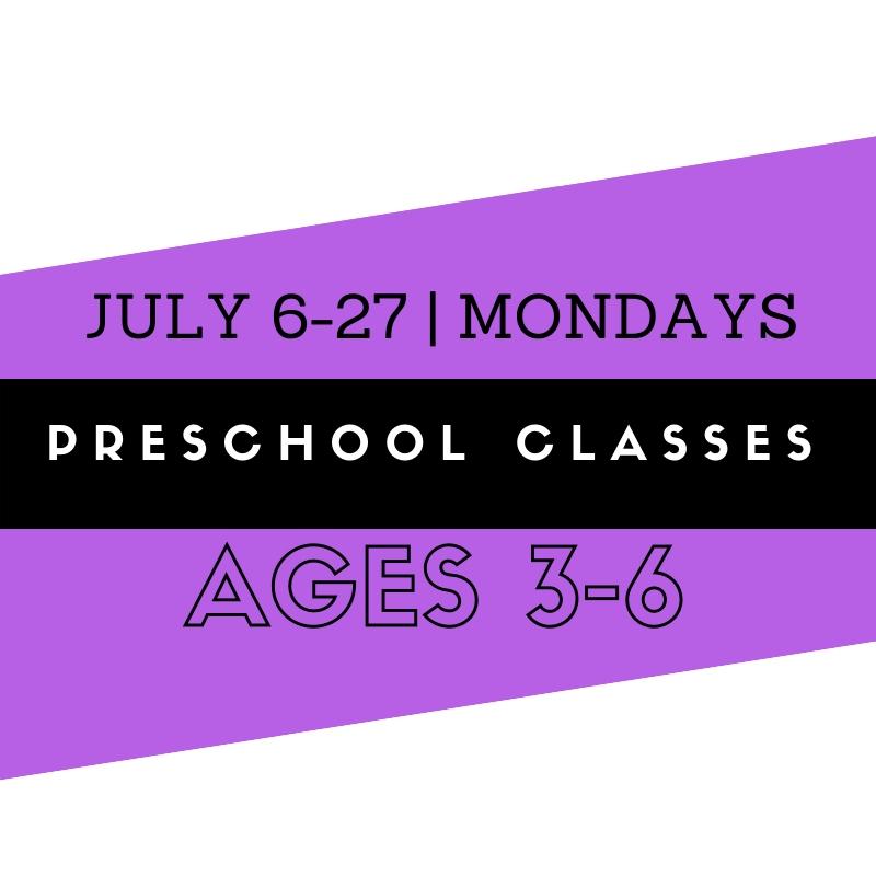 Summer Preschool Classes